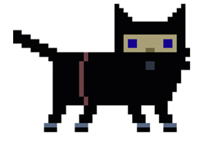 Pixel Cat Adventure Ninja Cat